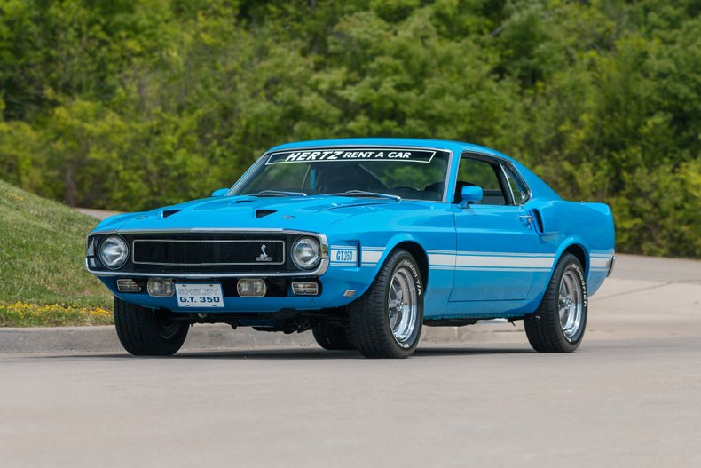 1969 Ford Shelby GT 350 Hertz