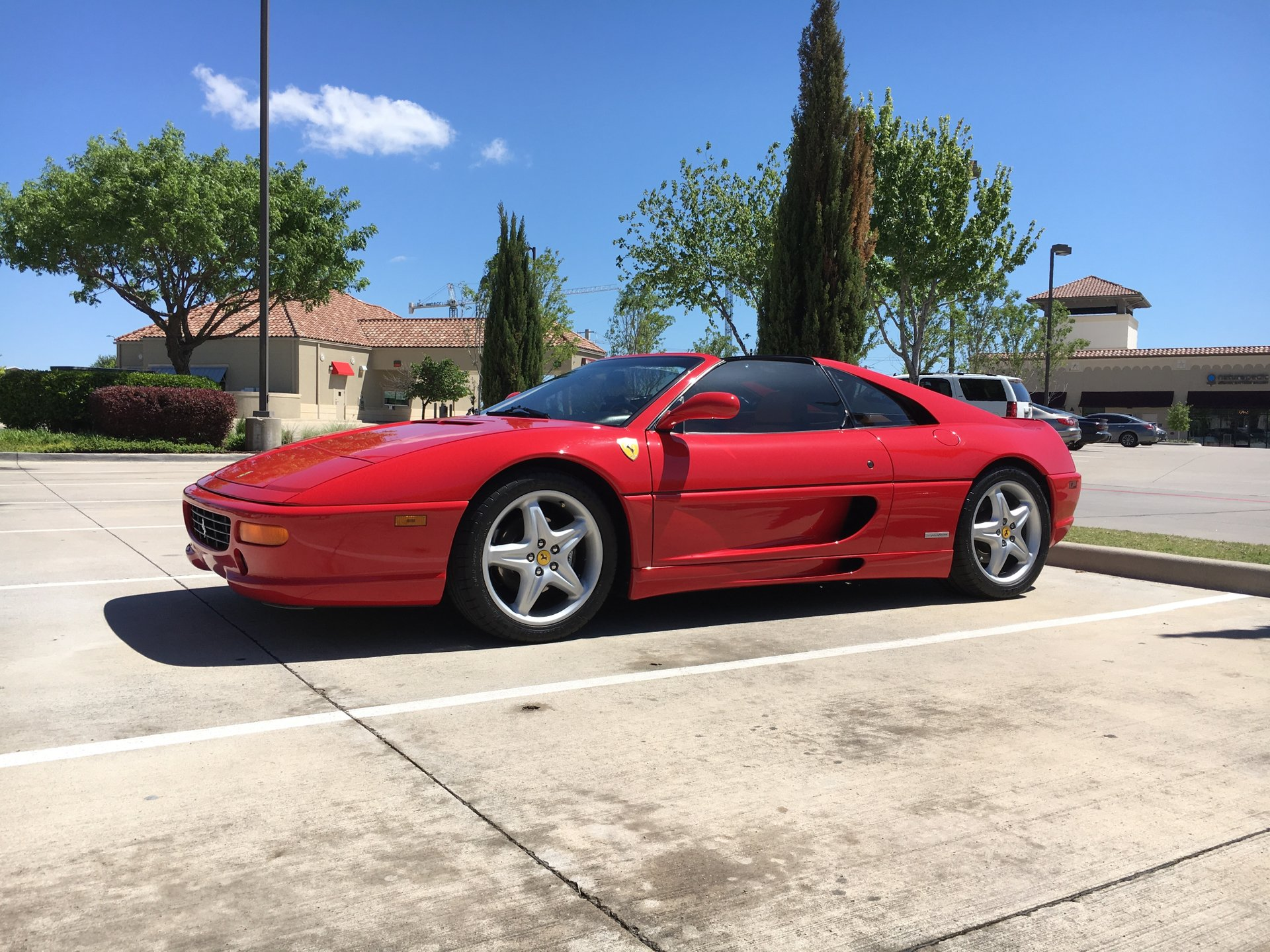 1996 ferrari 355 gts coupe