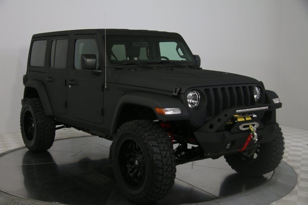 2018 jeep wrangler unlimited sport kevlar custom