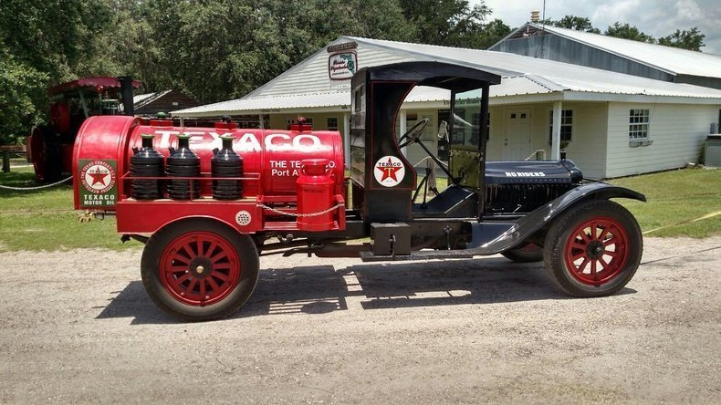 1914 White Texaco Tanker