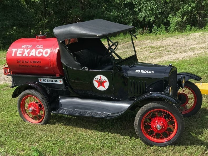 1923 ford model t roadster oil tanker