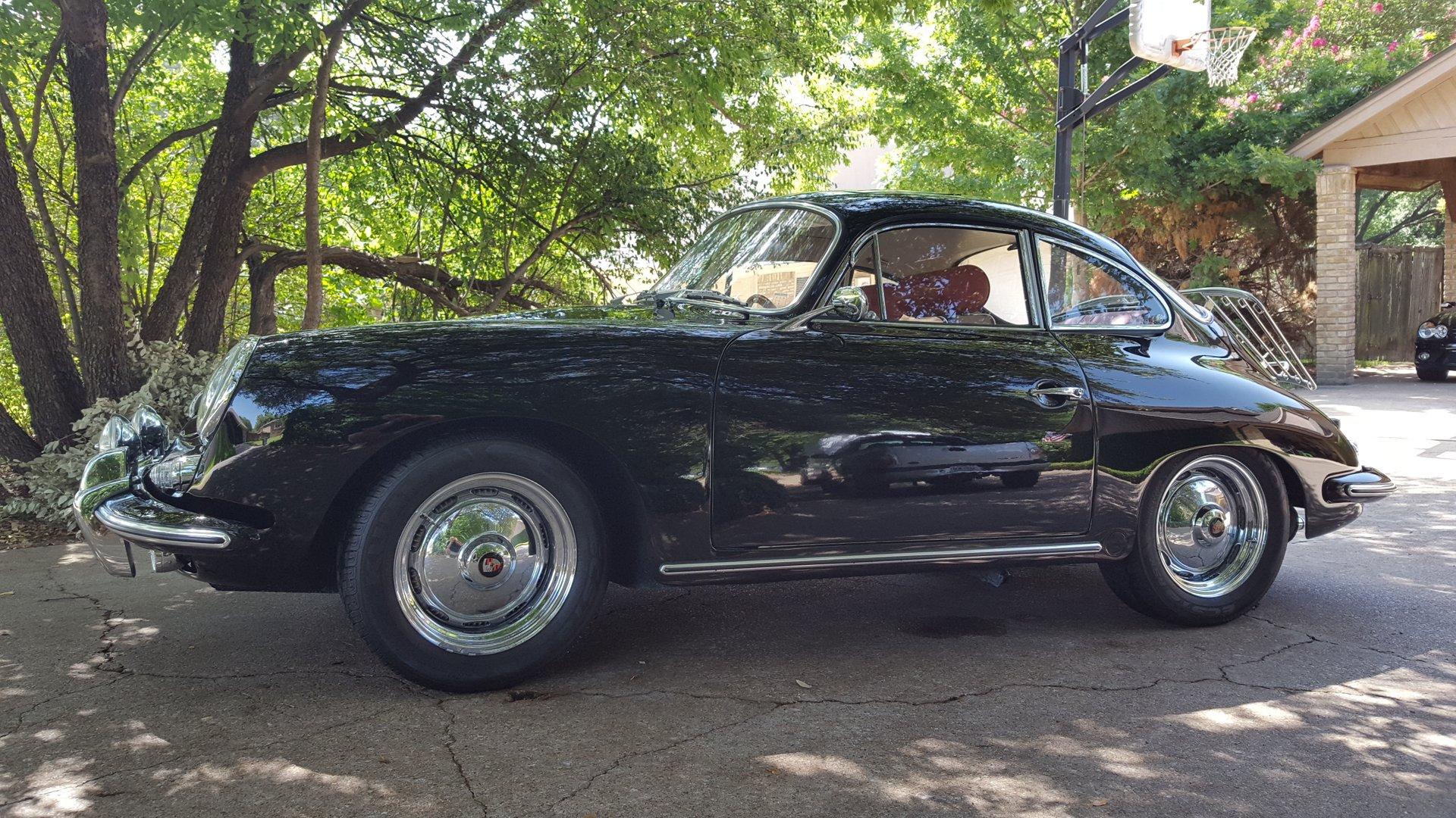 1962 porsche 356 b sunroof coupe