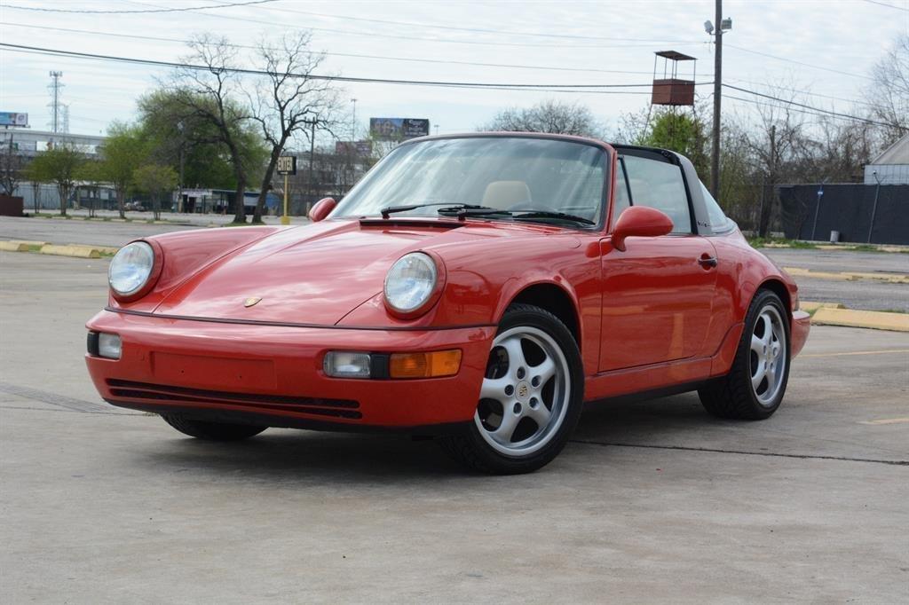 1993 porsche 911 964 targa coupe