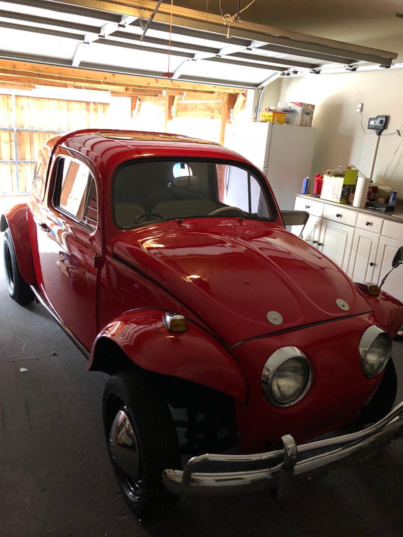 1962 volkswagen baha beetle coupe