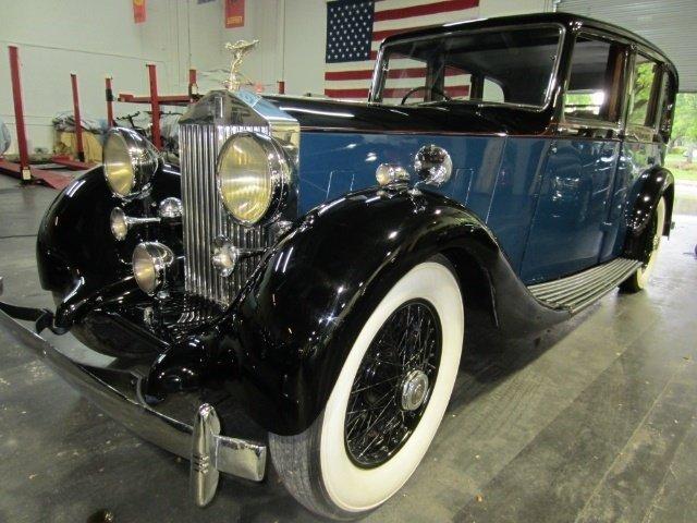 1937 rolls royce 25 30 limousine