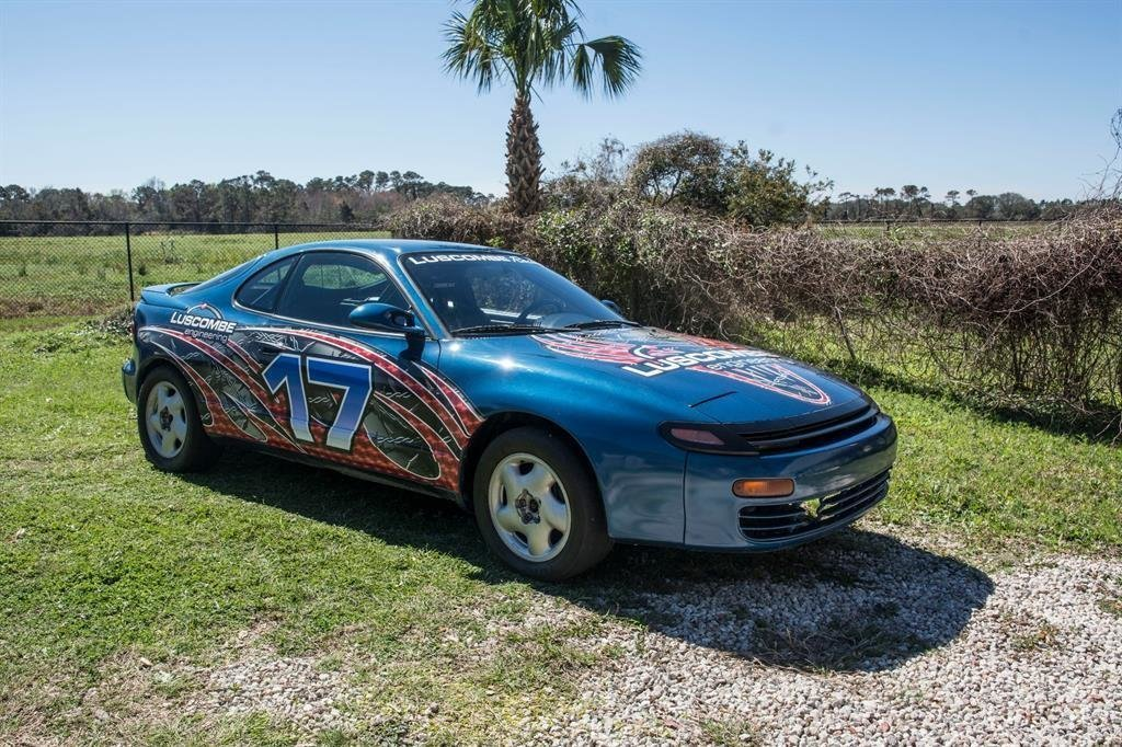 1991 toyota celica factory race car