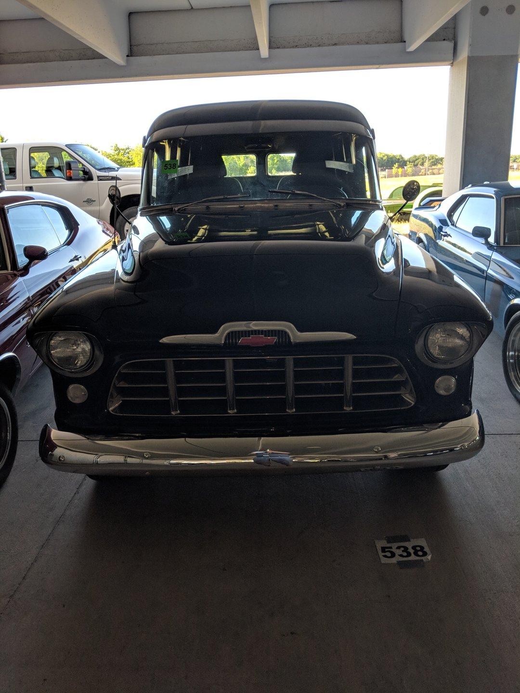 1956 chevrolet 3100 custom panel van