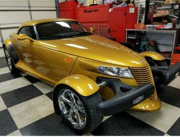 2002 plymouth prowler convertible