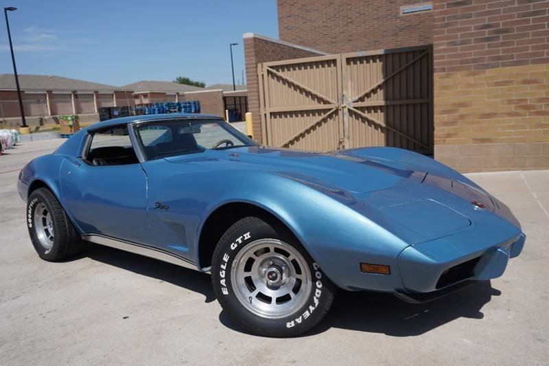1976 chevrolet corvette t top coupe