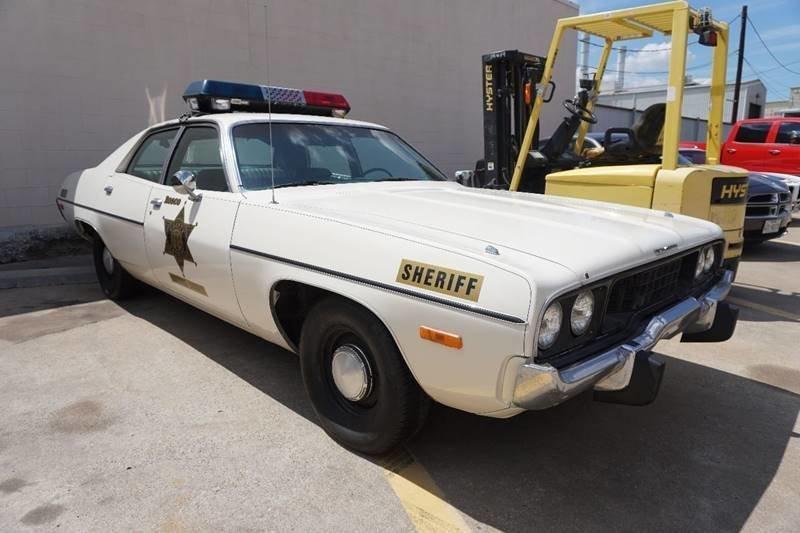 1973 plymouth satellite police cruiser dukes of hazzard