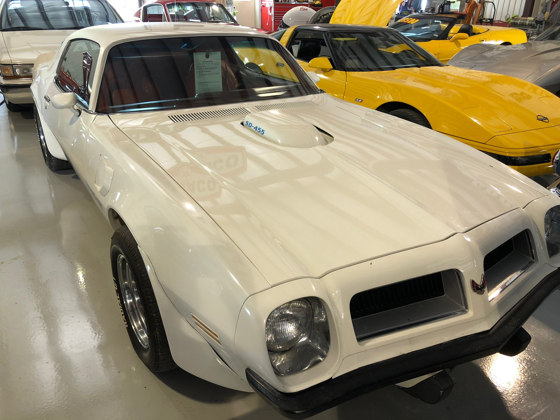 1974 pontiac trans am 455 super duty coupe