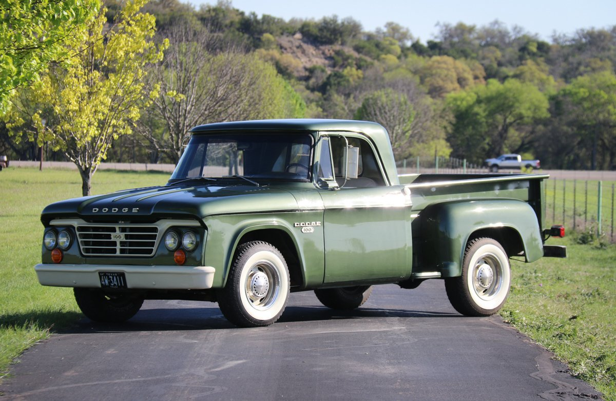 1964 dodge d100 sweptline pickup