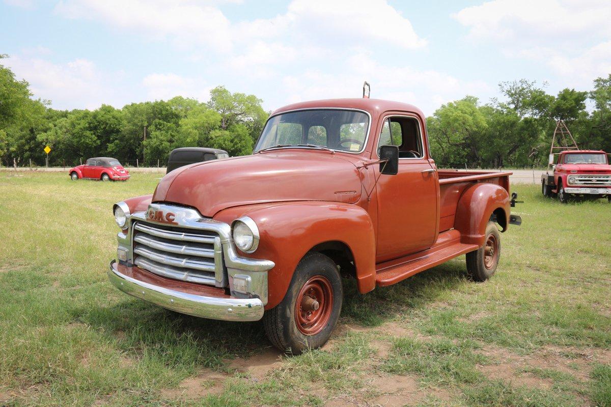 1954 gmc 5 window pickup