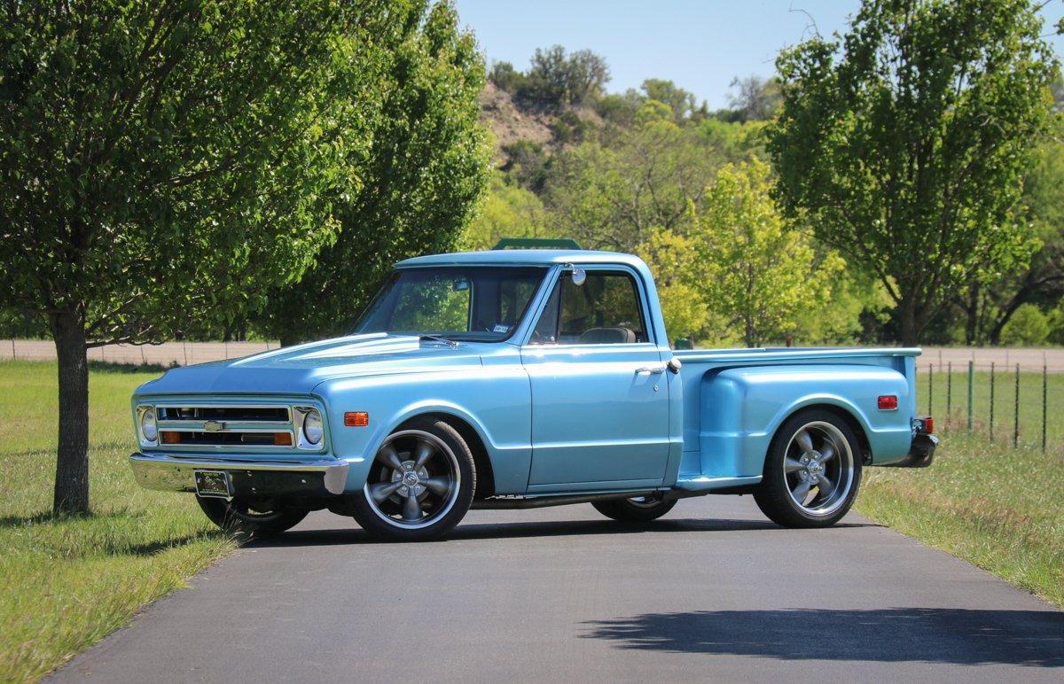 1968 chevrolet c10 stepside pickup