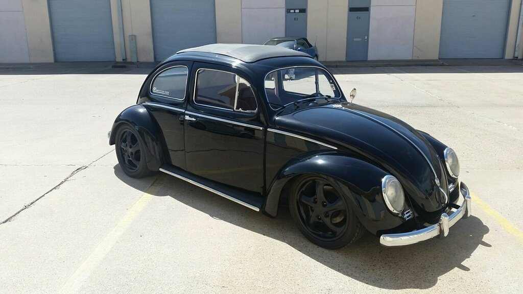 1956 volkswagen beetle california sunroof coupe