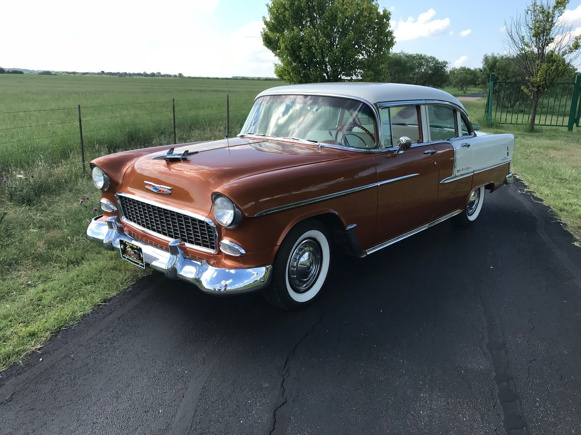 1955 chevrolet bel air sedan