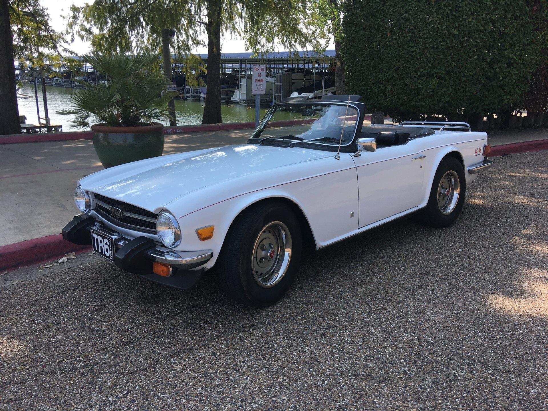 1976 triumph tr6 roadster