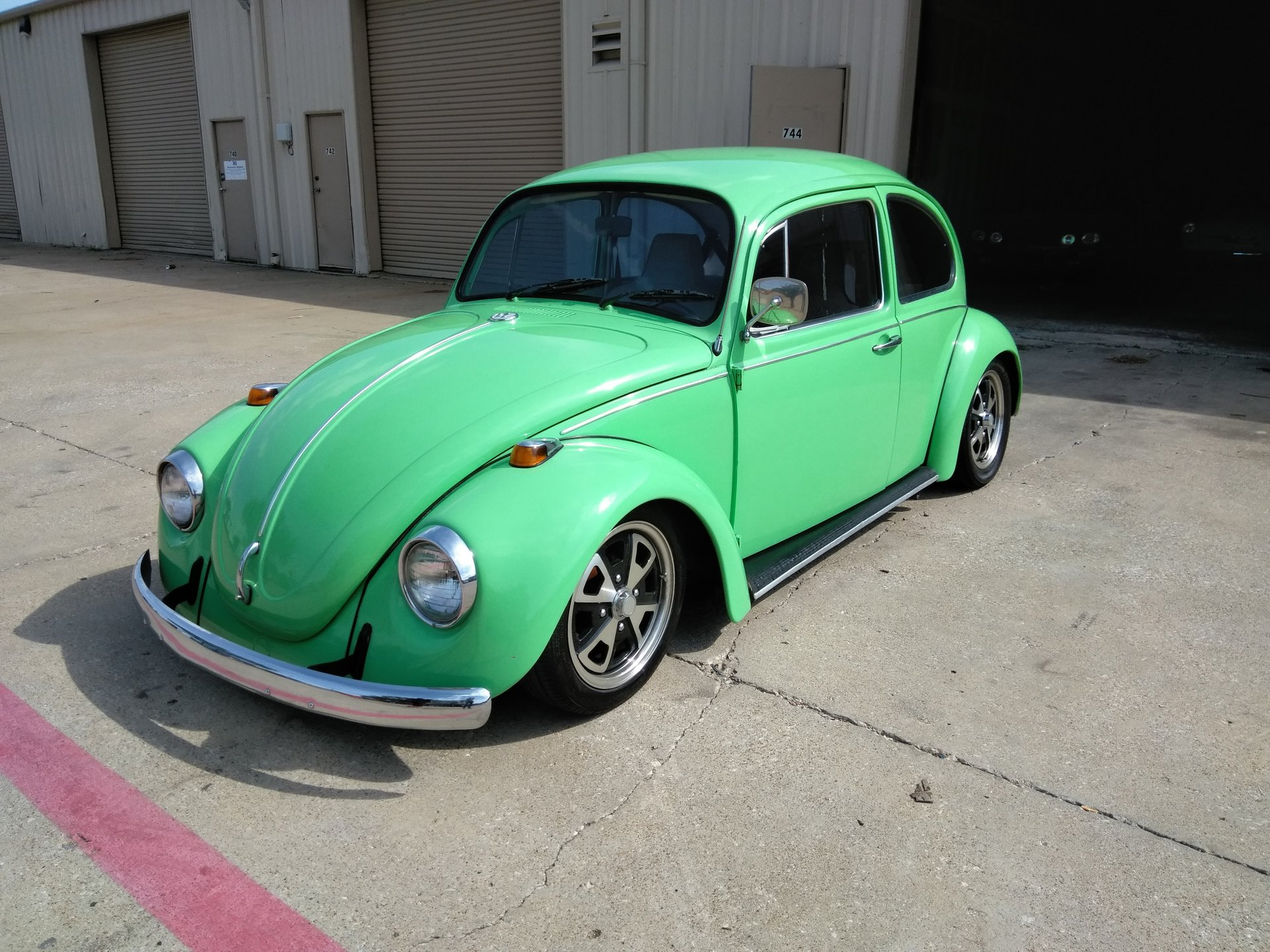 1969 volkswagen beetle sedan