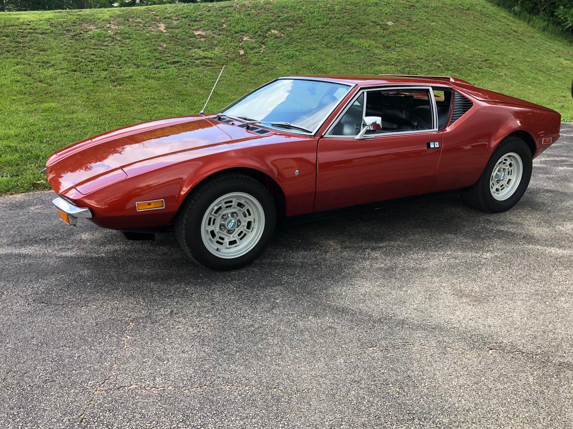 1972 de tomaso pantera coupe
