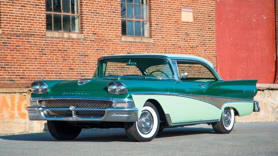 1958 ford fairlane hardtop