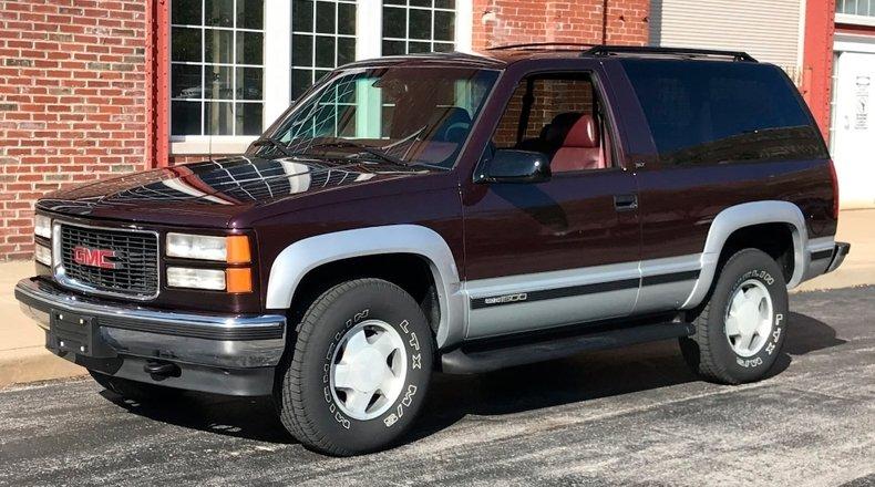1997 GMC Yukon SLT 4 X 4