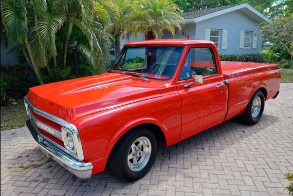 1969 chevrolet c k 20 pickup