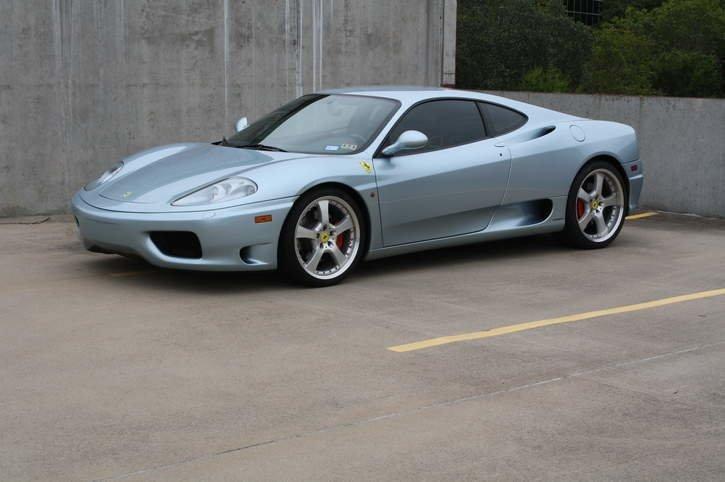 2001 ferrari 360 modena coupe