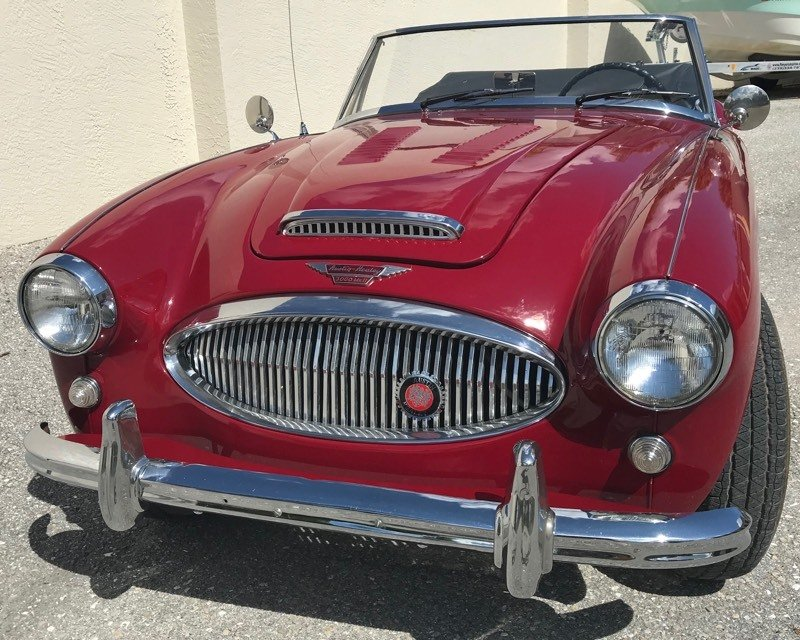 1963 austin healey 3000 mark ii roadster