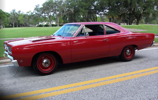 1968 plymouth road runner hemi coupe