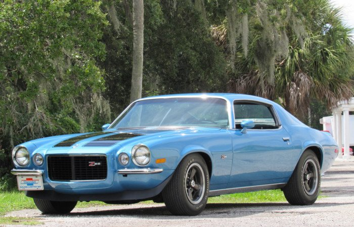 1970 chevrolet camaro rs z 28 coupe