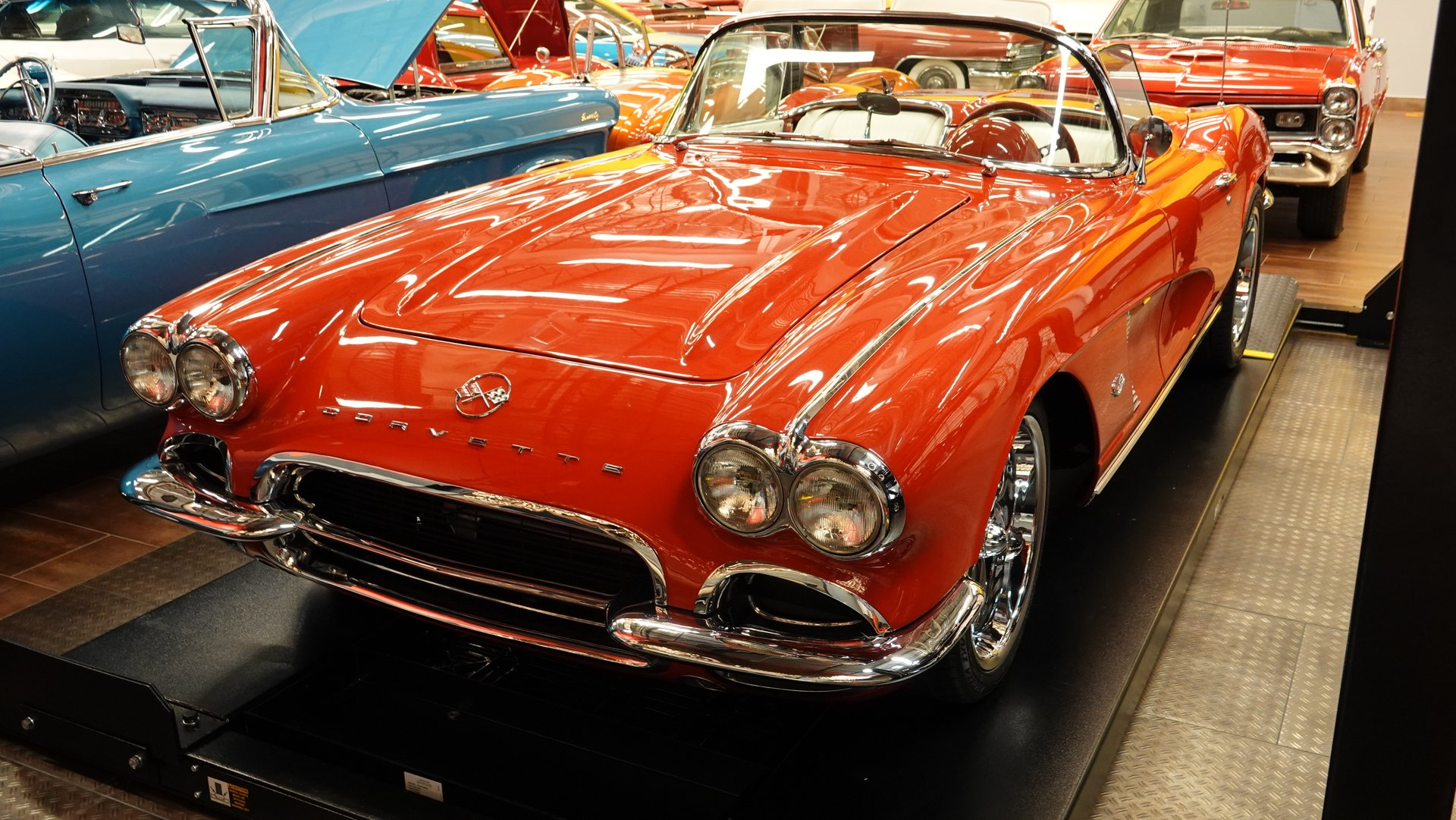 1962 chevrolet corvette restomod