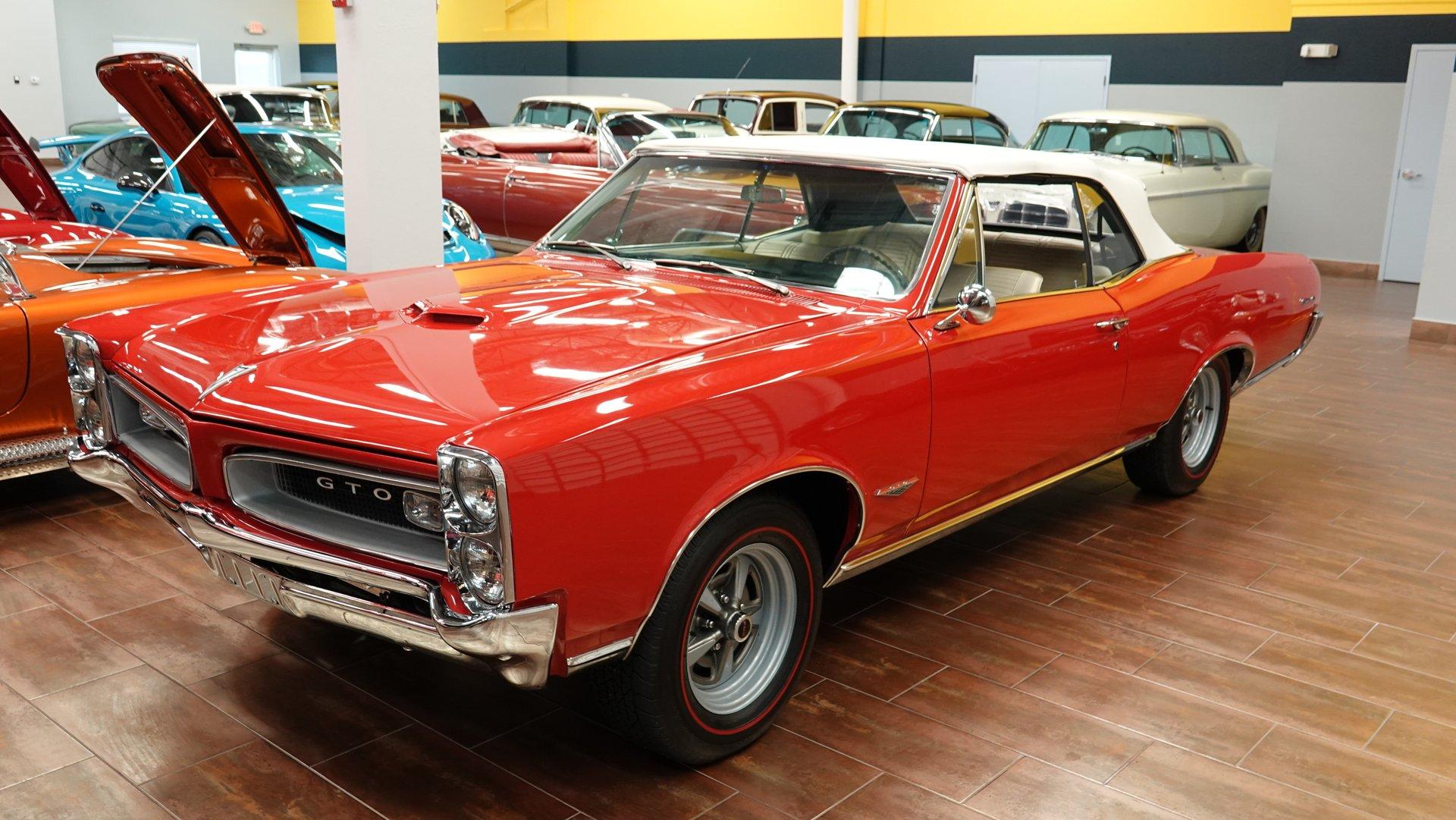 1966 pontiac gto tribute convertible