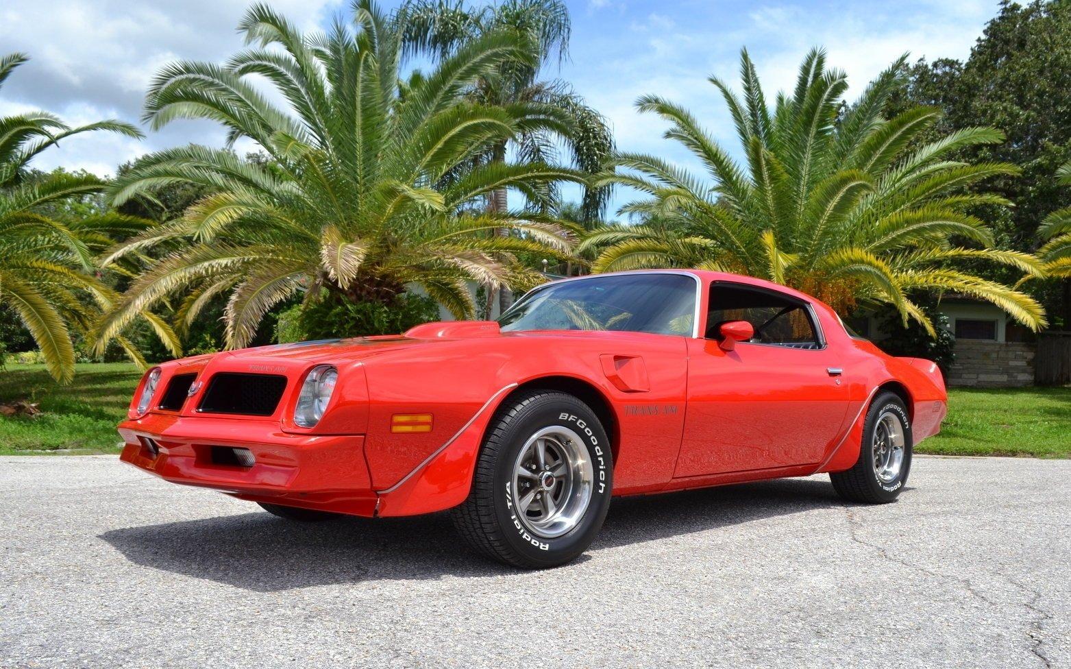 1976 pontiac trans am 455 ho coupe