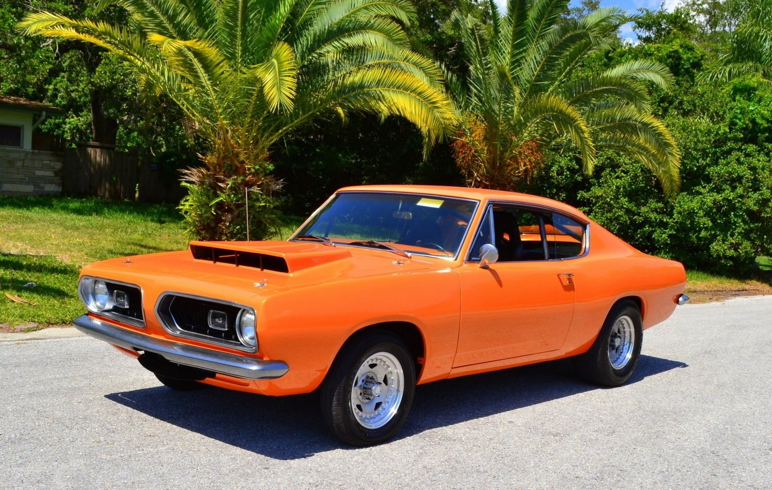 1967 plymouth barracuda super stock tribute