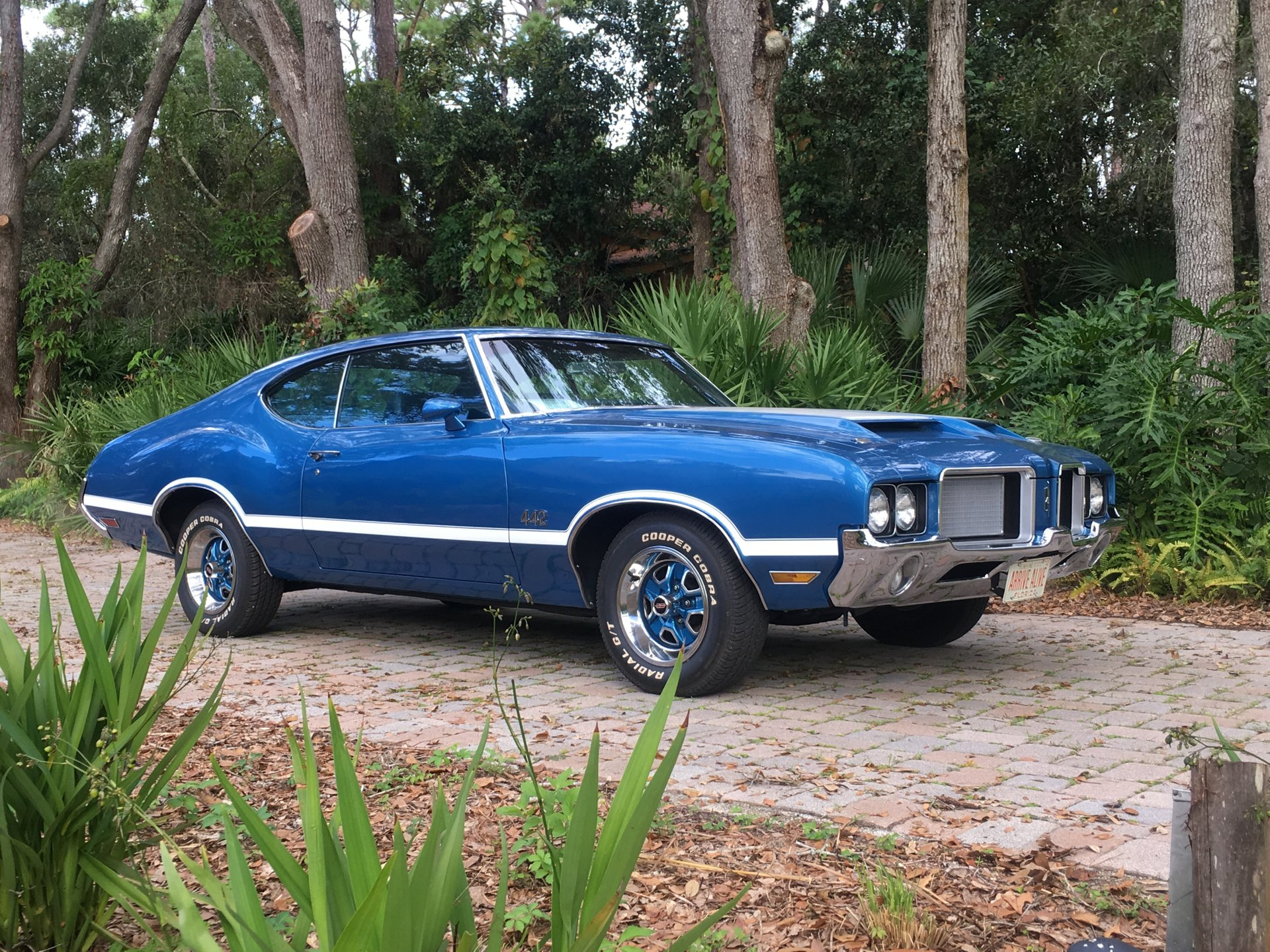 1972 oldsmobile cutlass 442 coupe