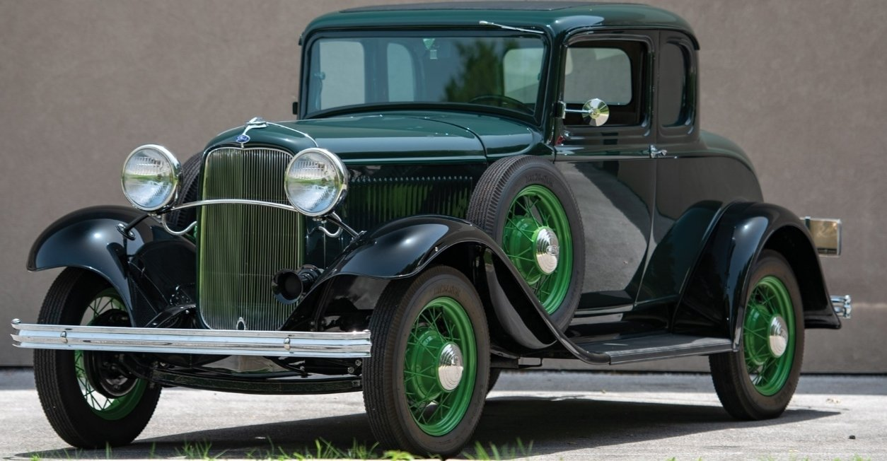 1932 ford model b 5 window coupe
