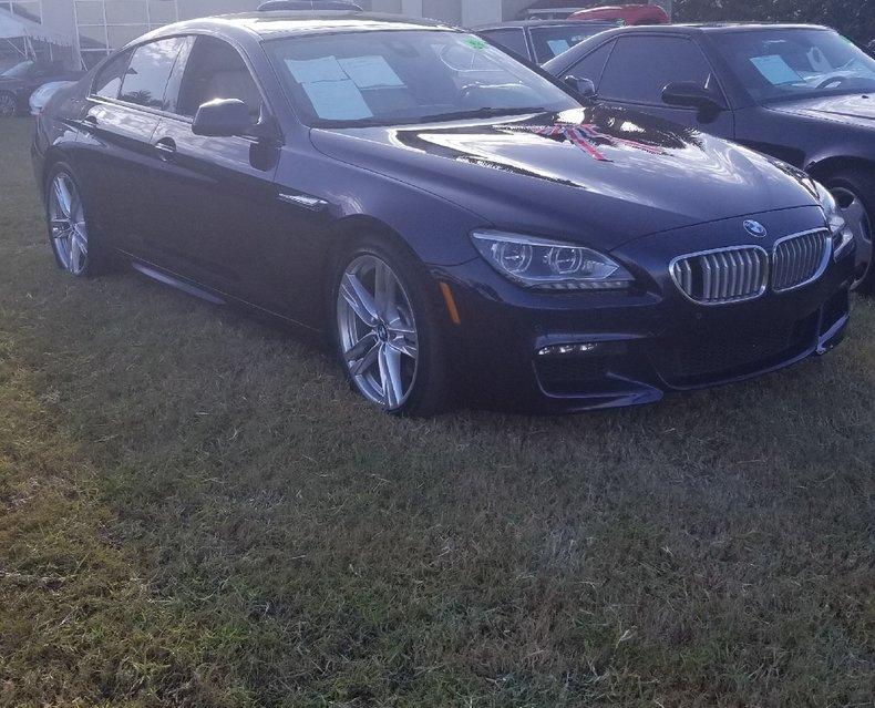 2015 BMW 650i Gran Sport