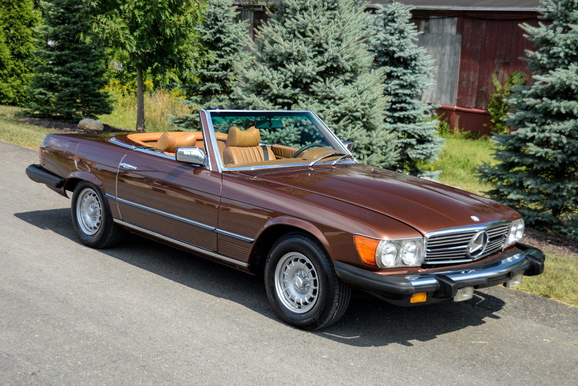 1978 mercedes benz 450sl roadster