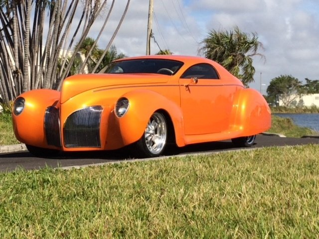 1939 lincoln zephyr street rod coupe