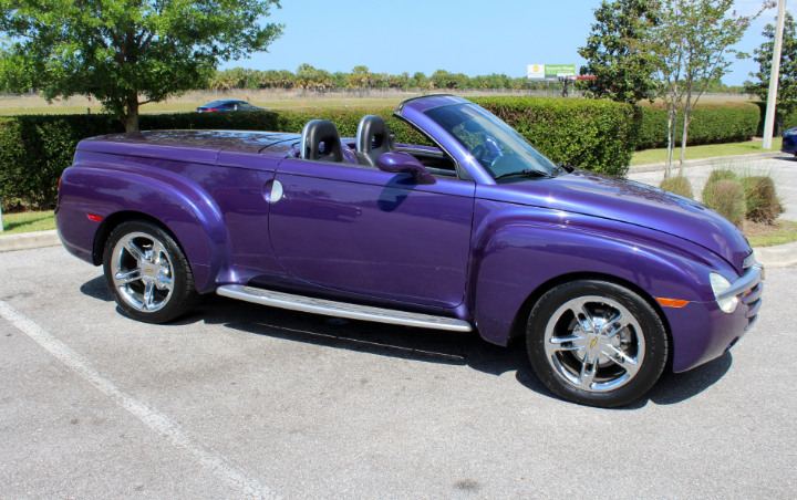 2004 chevrolet ssr pickup roadster
