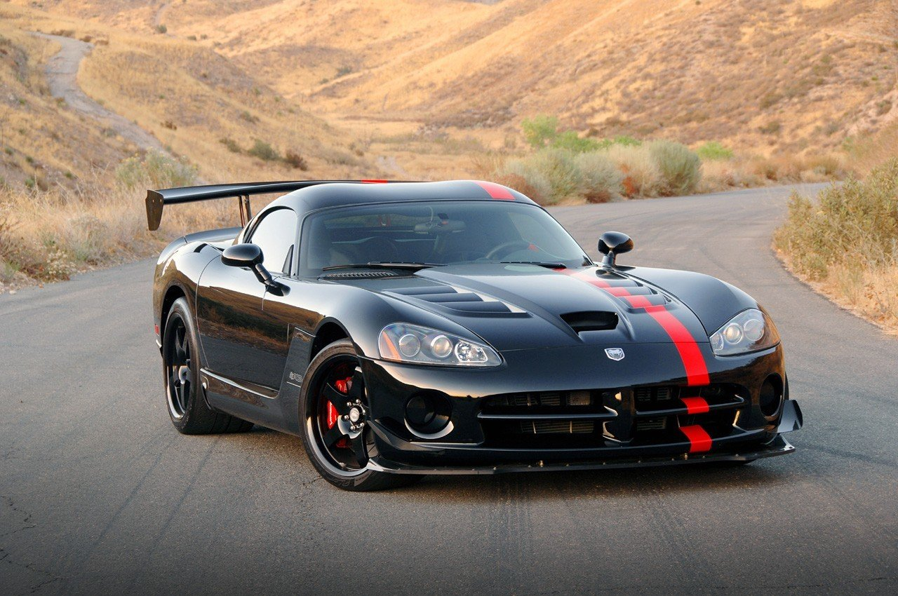 2008 dodge viper acr coupe