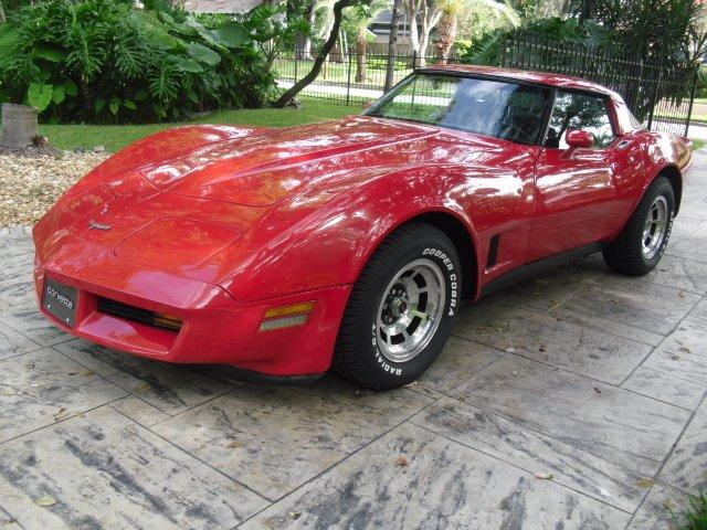 1981 chevrolet corvette coupe