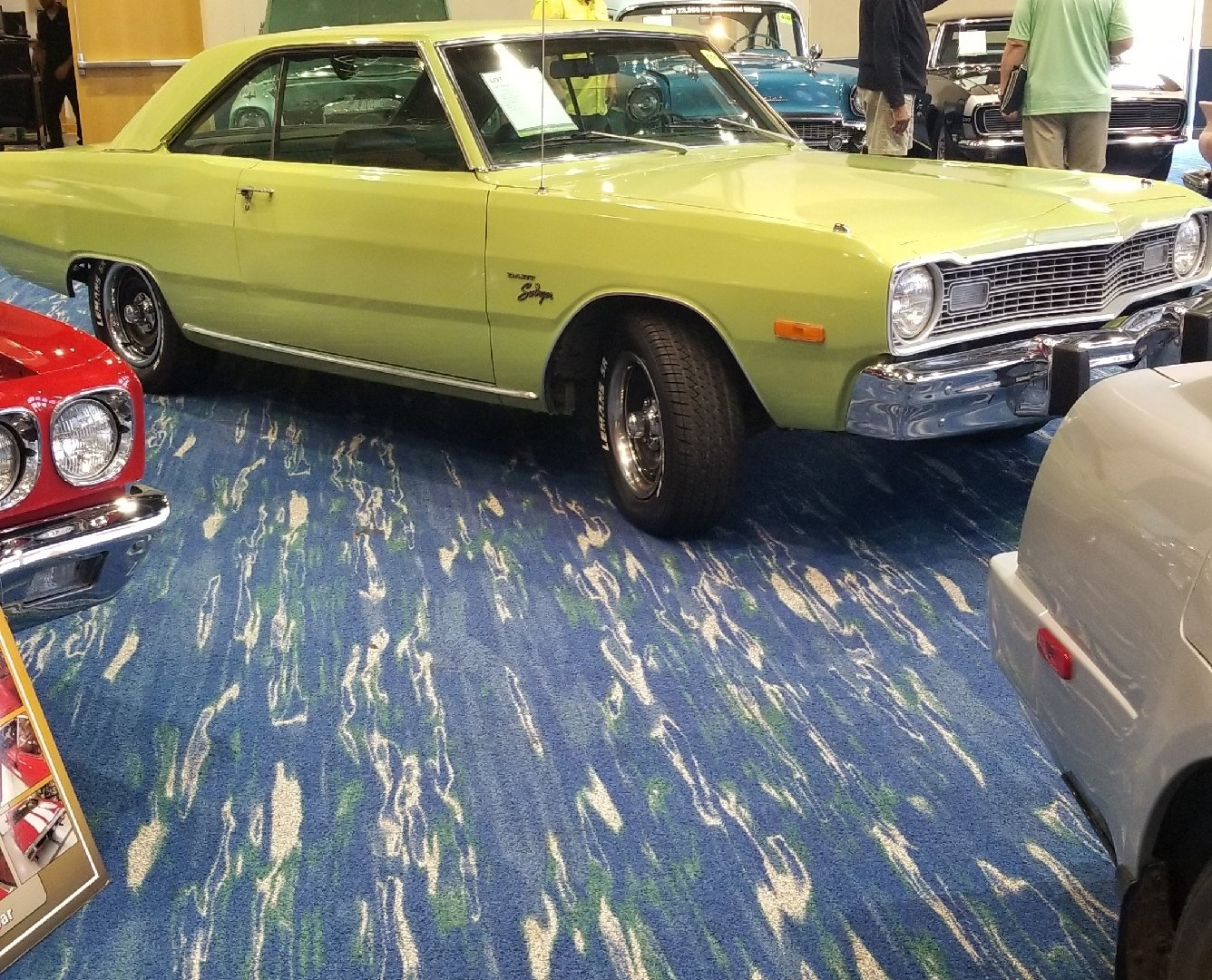 1973 dodge dart swinger hardtop