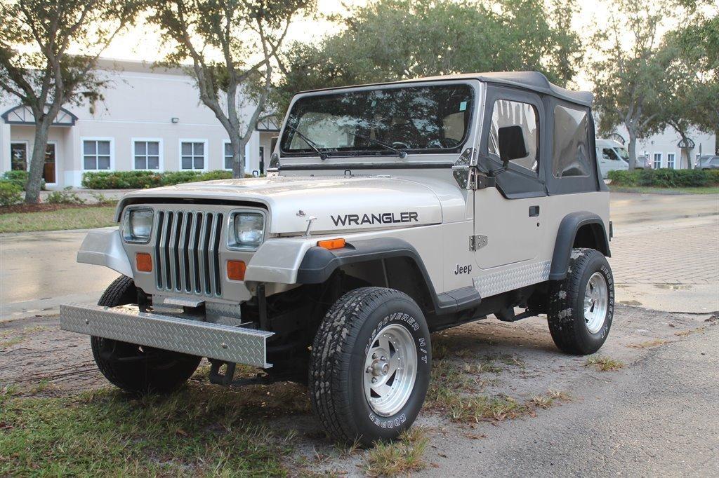 1995 jeep wrangler 4x4 sport utility