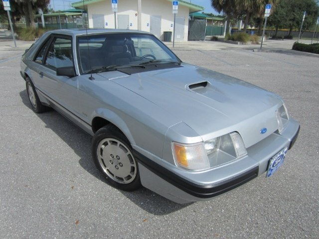 1984 ford mustang svo turbo coupe