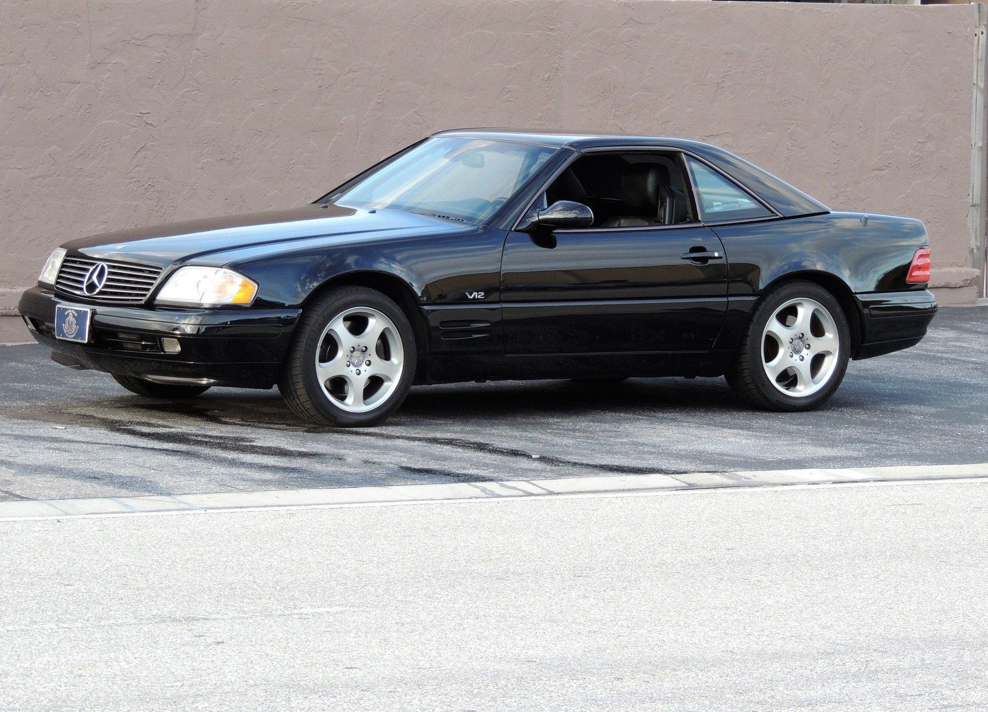 2000 mercedes benz sl600 roadster