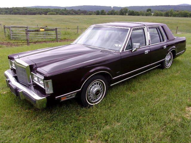 1988 lincoln town car sedan
