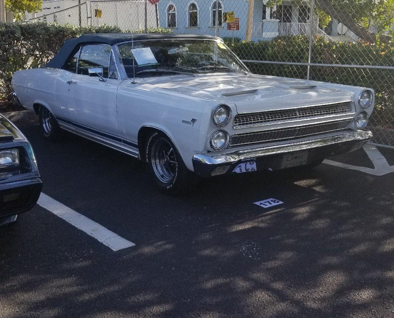 1966 mercury cyclone convertible