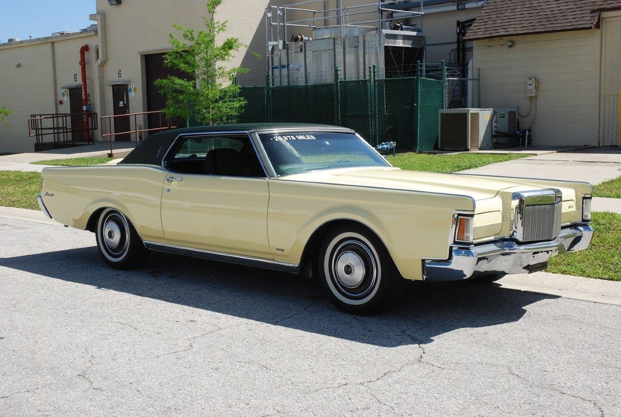 1971 lincoln continental mk iii coupe