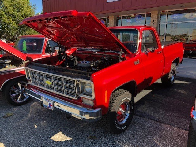 1975 chevrolet c k shortbed pickup